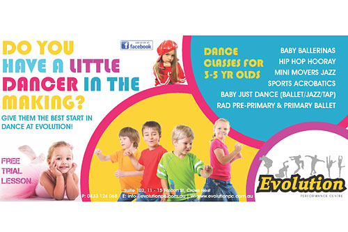 Dance Classes for 3-5 Year Olds